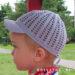 Детская ажурная кепочка