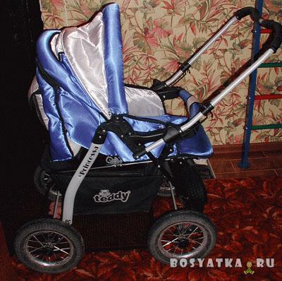 Складываем польскую коляску-трансформер. Фото 1