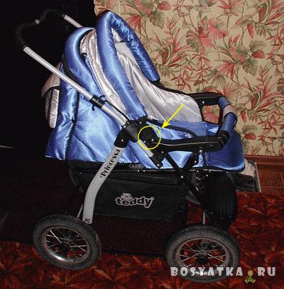 Складываем польскую коляску-трансформер. Фото 2