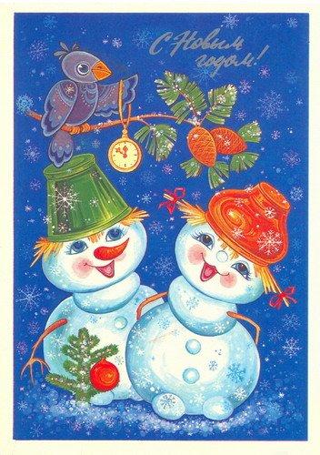загадка про снеговика