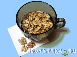 Как убрать горечь из грецких орехов