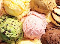 Домашнее ореховое мороженое