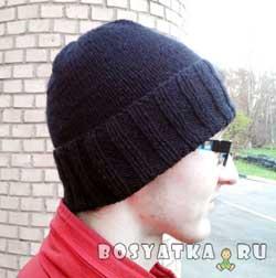 Универсальная молодежная шапка. Вариант 2
