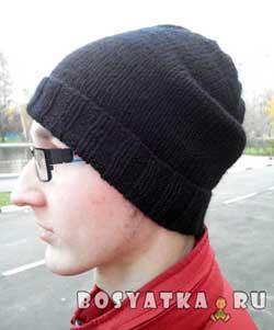 Универсальная молодежная шапка. Вариант 1