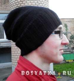 Универсальная молодежная шапка. Вариант 3