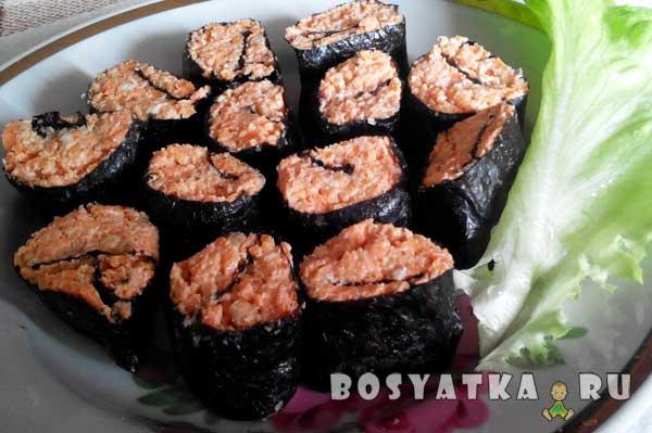 Сыроедческие суши