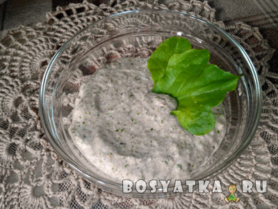 паштет из зеленой гречки с овощами