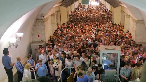 ситуация в метро
