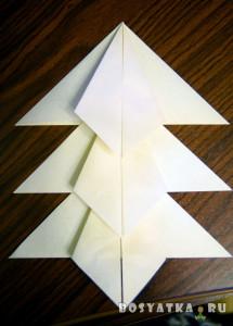 новогодняя гирлянда своими руками-елка