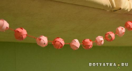 гирлянда-из-шариков