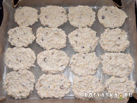 овсяное-печенье-выкладываем