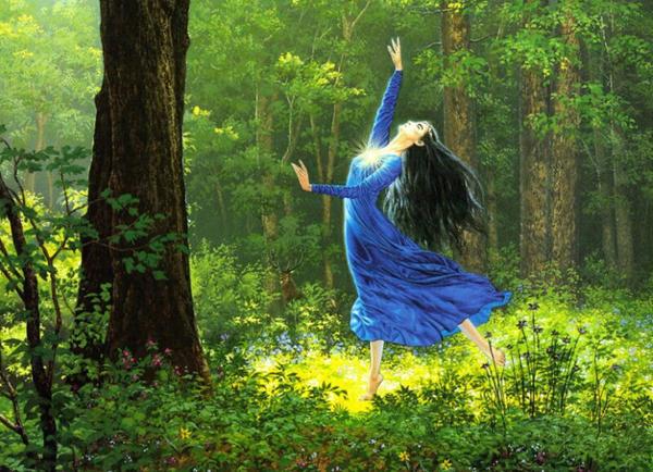 Лесная танцовщица