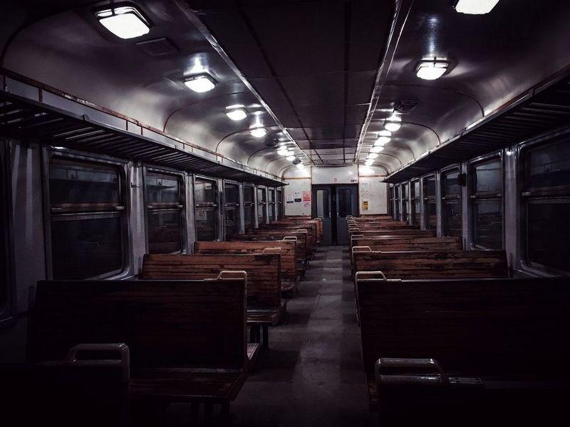 мрачный вагон