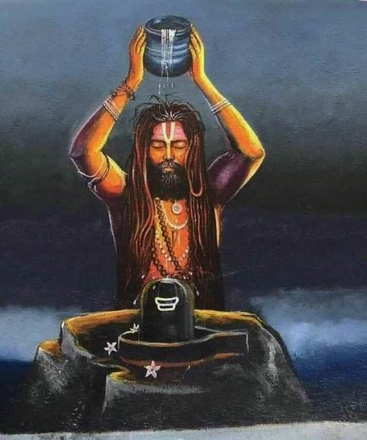 Поклонение Шиве Махадеву. Шиволингам